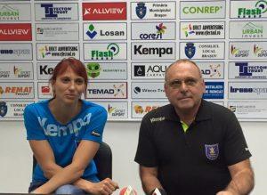 Mihaela Tivadar a semnat un sezon cu Corona Braşov