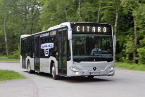 RAT Braşov introduce pe trasee încă zece autobuze Mercedes-Benz Citaro