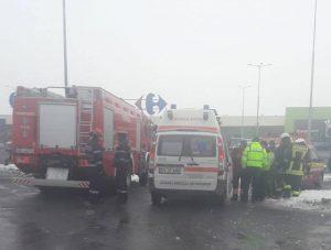 Accidente în această dimineață în Brașov