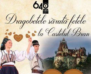 """""""Dragobetele sărută fetele"""" la Castelul Bran"""