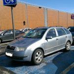 Zece sancțiuni în doar un sfert de oră pentru parcarea pe locurile persoanelor cu handicap