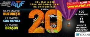 RIUF – cel mai mare târg internaţional de universități, la Braşov