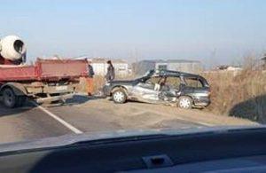 Accidente pe DN13 şi pe drumul către Tărlungeni