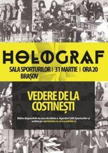 """""""Vedere de la Costineşti""""-super concert Holograf la Braşov"""