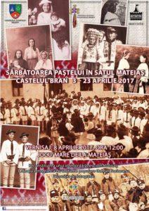 Expoziţie: Sărbătoarea Paştelui în satul Mateiaş