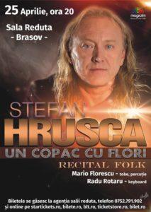 Ştefan Hruşcă – concert folk, la Braşov