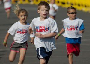 Concurs de alergare pentru copiii de la Făgăraș