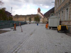 Zona din spatele Hotelului Aro va fi în şantier până în luna iulie