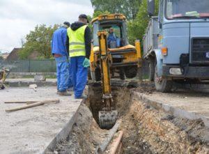 S-au finalizat lucrările la canalizarea de la Stadionul Tineretului