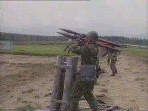 Prima armă termobarică, creată de cercetători din Armata Română, testată la Cincu