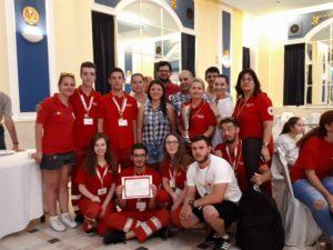 Crucea Roşie Braşov – Locul II la Concursul Naţional de Prim Ajutor