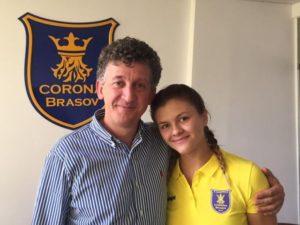 Daria Bucur a semnat un contrat pe cinci ani cu Corona