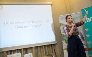 Povești terapeutice, conectare și joc cu Adriana Mitu la Brașov
