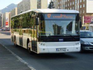 Circulația autobuzelor RATBV, bulversata de lucrările din zonă