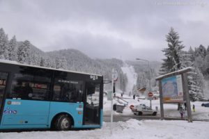 De vineri intră în funcţiune linia de transport din Poiana Mică în Poiana Braşov