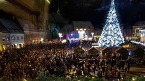 Brașovul de poveste îmbracă haine de sărbătoare din 1 Decembrie
