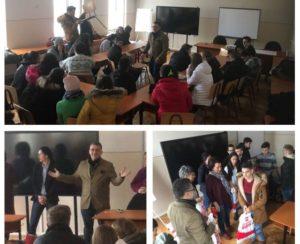 A venit Moş Crăciun şi la Colegiul Tehnic Maria Baiulescu