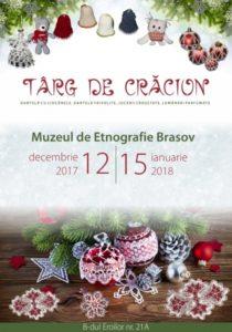 Târg de Crăciun la Muzeul de Etnografie. Ornamente pentru brad realizate de dantelărese și artizani