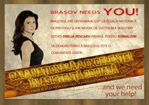 Onelia Pescaru, nominalizată în Gala Naţională a Excelenţei în Asistenţă Socială