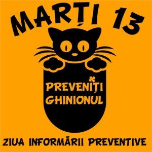 Marți 13, Ziua Informării Preventive la Coresi Shopping Resort, Castelul Bran și Cetatea Făgăraș
