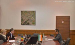 Ambasadorul Indiei, în vizită la Brașov