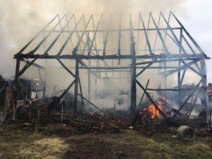 Incendiu la Satu  Nou. A fost găsit un cadavru carbonizat VIDEO