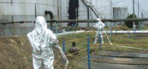 Exercițiu ISU: explozie la combinatul chimic din orașul Victoria
