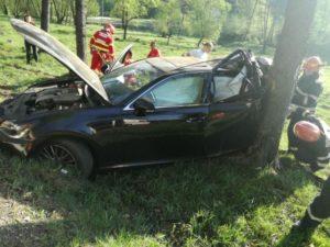 Accident pe DN1, la Timișul de Sus. Șoferul vinovat era băut!