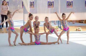 Micuțele gimnaste brașovence, la turneul de la Chișinău