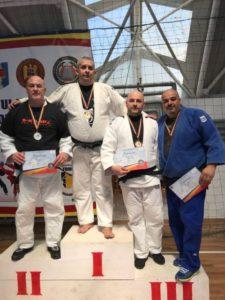 Remus Radu, locul II la Campionatul Național de Unifight al MAI