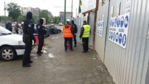 Un alt accident pe şantierul viitorului mall AFI din Braşov
