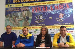 Corona Sportul Studențesc începe lupta pentru medaliile de bronz în Superliga Națională