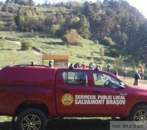 Turist accidentat, în Masivul Postăvarul