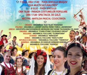 """Festivalului Internațional de Folclor """"Garofița Pietrei Craiului"""", la a XII-a ediție"""