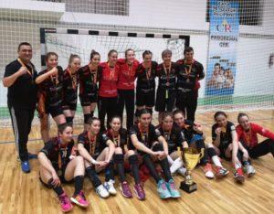 Handbal: Junioarele II de la ACS Transilvania sunt campioanele României!