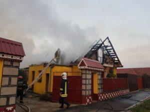 Incendiu la Rotbav