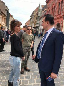 ÎN DIRECT Liderul PNL, Ludovic Orban, la Brașov