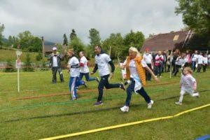 Mihai Covaliu și Simona Amânar au sărbătorit Ziua Olimpică la munte