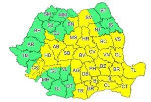 Atenționare meteorologică pentru județul Brașov