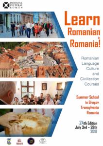 """Străini din 14 țări vor învăța limba, cultura și civilizația românească, la Universitatea """"Transilvania"""""""