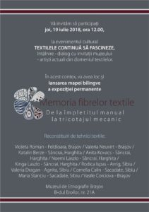 Reconstituiri de tehnici textile, la Muzeul de Etnografie