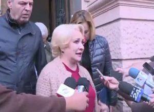 VIDEO Ce a declarat premierul Viorica Dăncilă la Brașov, în timp ce era huiduită
