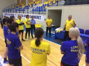 Handbal: Corona are o deplasare dificilă la Gloria Buzău