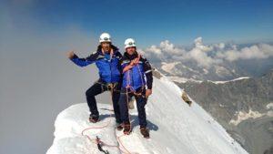 Doi jandarmi din Brașov au cucerit Vârful Matterhorn (Foto)
