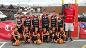 Echipa de baschet U13 intră în meciurile oficiale ale Campionatului Național