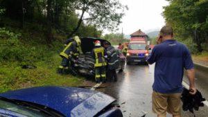 Traficul pe DN10, Brașov – Întorsura Buzăului, se face pe un sens, din cauza unui accident
