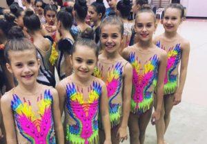 Medalii pentru micile gimnaste de la ACS Transilvania, înainte de Campionatele Naționale de Copii
