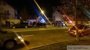 Un șofer a pătruns în intersecție fără să se asigure. O persoană a ajuns la spital