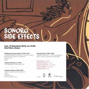 Festivalului SoNoRo, ajunge, astăzi la Brașov