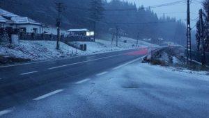 Starea drumurilor naționale din județul Brașov! Șoferi, circulați cu prudență!